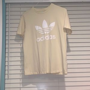 Pale Yellow Adidas T-Shirt